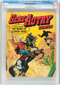 Golden Age (1938-1955):Western, Gene Autry Comics #1 (Fawcett Publications, 1942) CGC VG 4.0Off-white pages....