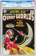 Silver Age (1956-1969):Science Fiction, Showcase #17 Adventures on Other Worlds (DC, 1958) CGC FN 6.0Off-white pages....