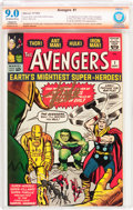 Silver Age (1956-1969):Superhero, The Avengers #1 Verified Signature (Marvel, 1963) CBCS Restored(Slight/Moderate) VF/NM 9.0 Off-white to white pages....