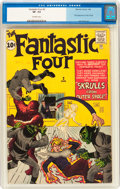 Silver Age (1956-1969):Superhero, Fantastic Four #2 (Marvel, 1962) CGC VF- 7.5 Off-white pages....