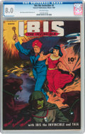 Golden Age (1938-1955):Science Fiction, Ibis The Invincible #3 (Fawcett Publications, 1945) CGC VF 8.0Off-white pages....