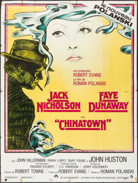"""Chinatown (Paramount, 1974). French Grande (46"""" X 61""""). Mystery"""