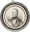 Political:Tokens & Medals, Henry Clay: Native American Pewter Rim Medallion....