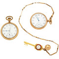 Timepieces:Pocket (post 1900), Elgin & Waltham Open Face Pocket Watches. ... (Total: 2 Items)