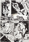 Original Comic Art:Panel Pages, John Romita Sr. and Jim Mooney Spectacular Spider-Man(Magazine) #1 and Amazing Spider-Man #116 Page 1...