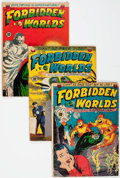 Golden Age (1938-1955):Horror, Forbidden Worlds Group of 54 (ACG, 1951-61) Condition: AverageGD-.... (Total: 54 Comic Books)