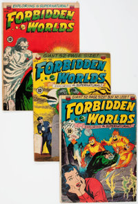 Forbidden Worlds Group of 54 (ACG, 1951-61) Condition: Average GD-.... (Total: 54 Comic Books)