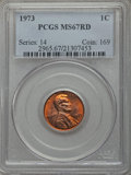 Lincoln Cents, 1973 1C MS67 Red PCGS. PCGS Population (32/0). Numismedia Wsl. Price for problem free NGC/PCGS coin in ...