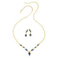 Estate Jewelry:Suites, Sapphire, Diamond, Gold Jewelry Suite. ... (Total: 2 Items)