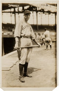 Baseball Collectibles:Photos, 1919 Tris Speaker Original News Photograph by Bain, PSA/DNA Type1....