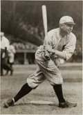 Baseball Collectibles:Photos, Late 1910's Tris Speaker Original Photograph by Van Oeyen, PSA/DNAType 1....