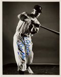 "Baseball Collectibles:Photos, 1951 Mickey Mantle Signed Original ""Look Magazine"" Photograph,PSA/DNA Type 1...."