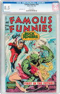 Golden Age (1938-1955):Science Fiction, Famous Funnies #210 (Eastern Color, 1954) CGC VF+ 8.5 Whitepages....