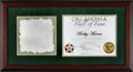 Baseball Collectibles:Others, 2005 Bobby Murcer Oklahoma Hall of Fame Certificate from The BobbyMurcer Collection. ...