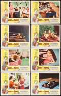 """Movie Posters:Exploitation, Lost, Lonely and Vicious (Howco, 1958). Lobby Card Set of 8 (11"""" X14""""). Exploitation.. ... (Total: 8 Items)"""