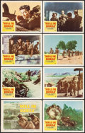 "Movie Posters:War, Hell In Korea (DCA, 1957). Lobby Card Set of 8 (11"" X 14""). War..... (Total: 8 Items)"