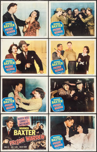 """Prison Warden (Columbia, 1949). Lobby Card Set of 8 (11"""" X 14""""). Crime. ... (Total: 8 Items)"""