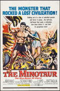 "Movie Posters:Adventure, The Minotaur & Other Lot (United Artists, 1961). One Sheets (2)(27"" X 41""). Adventure.. ... (Total: 2 Items)"