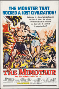 """The Minotaur & Other Lot (United Artists, 1961). One Sheets (2) (27"""" X 41""""). Adventure. ... (Total: 2..."""