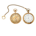 Timepieces:Pocket (post 1900), Two 12 Size Open Face Pocket Watches Runners. ... (Total: 2 Items)