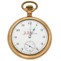 Timepieces:Pocket (post 1900), Elgin 17 Jewel Open Face Pocket Watch. ...