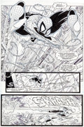 Original Comic Art:Panel Pages, Todd McFarlane Amazing Spider-Man #312 Page 17 Original Art(Marvel, 1989)....