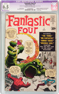 Silver Age (1956-1969):Superhero, Fantastic Four #1 (Marvel, 1961) CGC Apparent FN+ 6.5 Moderate (P) Cream to off-white pages....