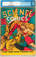 Golden Age (1938-1955):Science Fiction, Science Comics #5 (Fox, 1940) CGC VF- 7.5 Cream to off-whitepages....