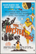 "Movie Posters:Science Fiction, The Mysterians (RKO, 1959). One Sheets (2) (27"" X 41""). ScienceFiction.. ... (Total: 2 Items)"