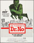 "Movie Posters:James Bond, Dr. No (United Artists, 1962). Partial Three Sheet (41"" X 53"").James Bond.. ..."