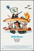 """Movie Posters:War, Kelly's Heroes (MGM, 1970). One Sheet (27"""" X 41"""") Style B. War....."""