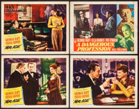 "Mr. Ace & Other Lot (United Artists, 1946). Lobby Cards (4) (11"" X 14""). Drama. ... (Total: 4 Items)"