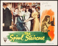 "Movie Posters:Thriller, The Spiral Staircase (RKO, 1945). Autographed Lobby Card (11"" X 14""). Thriller.. ..."