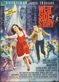 "Movie Posters:Academy Award Winners, West Side Story (United Artists, 1962). German A0 (32.75"" X 46"").Academy Award Winners.. ..."