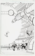 Original Comic Art:Splash Pages, Jim Starlin and Al Milgrom Marvel Universe: The End #3Splash Page 21 Original Art (Marvel, 2003)....