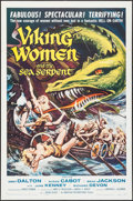 """Movie Posters:Fantasy, Viking Women and the Sea Serpent (American International, 1957).One Sheet (27"""" X 41""""). Fantasy.. ..."""