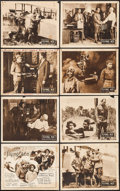 """Movie Posters:Black Films, The Flying Ace (Norman, 1926). Lobby Card Set of 8 (11"""" X 14"""").Black Films.. ... (Total: 8 Items)"""