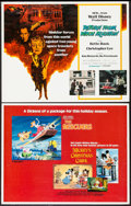 "Movie Posters:Animation, The Rescuers/Mickey's Christmas Carol Combo & Other Lot (BuenaVista, 1983). Half Sheets (2) (22"" X 28""). Animation.. ... (Total:2 Items)"
