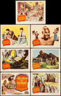 "Movie Posters:Adventure, A Thousand and One Nights (Columbia, 1945). Title Lobby Card &Lobby Cards (6) (11"" X 14""). Adventure.. ... (Total: 7 Items)"