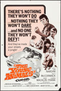 """Movie Posters:Exploitation, The Young Animals & Other Lot (American International, 1968).One Sheets (2) (27"""" X 41""""). Exploitation.. ... (Total: 2 Items)"""