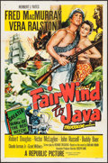 "Movie Posters:Adventure, Fair Wind to Java (Republic, 1953). One Sheets (3) (27"" X 41"").Adventure.. ... (Total: 3 Items)"