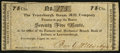 Obsoletes By State:Indiana, Petersburgh, (KY)- Petersburgh Steam Mill Company 75¢ Aug. 28, 1817 . ...