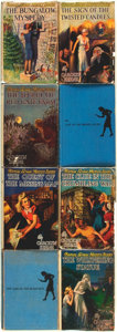 Books:Children's Books, Carolyn Keene. Group of Eight Early Issue Nancy Drew Mysteries, Sixin Dust Jackets, including: The Bungalow Mystery... (Total:8 Items)