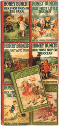 Books:Children's Books, Laura Lee Hope and Helen Louise Thorndike. Group of SevenChildren's Novels, including: Honey Bunch. Her First Days ont... (Total: 7 Items)