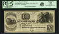Obsoletes By State:Iowa, Dubuque, Iowa Territory - Miners Bank of Dubuque-Iowa Lead Mines payable at the Mechanics & Traders Bank, Cincinnati $10 18_ I...