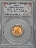 Proof Lincoln Cents, 2009-S 1C Early Childhood PR70 Red Deep Cameo PCGS. PCGS Population (424). NGC Census: (1900). Numismedia Wsl. Price for p...