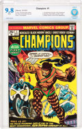 Bronze Age (1970-1979):Superhero, The Champions #1 (Marvel, 1975) CBCS NM/MT 9.8 White pages....