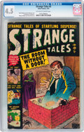 Golden Age (1938-1955):Horror, Strange Tales #5 (Atlas, 1952) CGC VG+ 4.5 Off-white to whitepages....