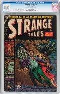 Golden Age (1938-1955):Horror, Strange Tales #21 (Atlas, 1953) CGC VG 4.0 Cream to off-whitepages....