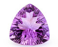 Gems:Faceted, Gemstone: Amethyst - 11.46 Ct.. Brazil. 16.1 x 15.8 x 9 mm....